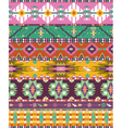 Seamless colorful aztec geometric pattern with bir vector | Price: 1 Credit (USD $1)
