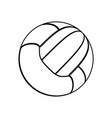 sport voleyball ball vector image vector image
