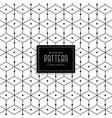 stylish geometric line pattern design vector image vector image