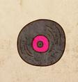 Vinyl Record Cartoon vector image vector image