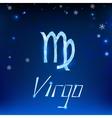 01 Virgo horoscope sign vector image vector image