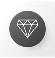 diamond icon symbol premium quality isolated vector image vector image