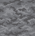 Dot camouflage seamless pattern gray vector image