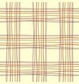 tartan table endless vector image vector image