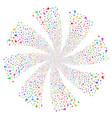 vial fireworks swirl rotation vector image vector image
