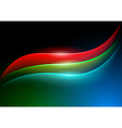 Waving RGB Curves vector image vector image