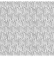 abstract gray hexagon background vector image vector image