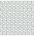 abstract pentagonal line geometric pattern shape vector image vector image