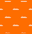 cruise ship pattern seamless vector image vector image