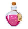 magic potion - creative modern cartoon style vector image