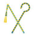 pharaoh symbols icon isolated vector image vector image