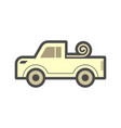 pickup accessory icon vector image