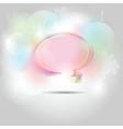 speech bubble shapes vector image vector image