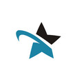 star logo design inspiration vector image vector image