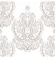 Vintage Empire motif ornament pattern vector image