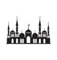 logo muslim mosque vector image