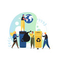 environment protection flat style design vector image