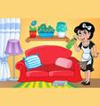 housewife theme image 2 vector image
