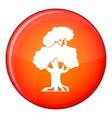 Oak icon flat style vector image vector image
