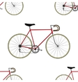 Vintage Bicycle Seamless Pattern vector image