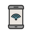 wifi connection vector image vector image
