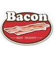 Bacon vector image vector image