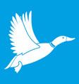 duck icon white