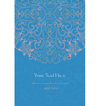 Elegant invitation cards vector image vector image