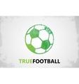 football logo ball logo design ball vector image