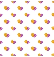 Mask pattern cartoon style vector image vector image