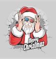santa claus christmas artwork element vector image vector image
