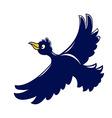 Flying Crow vector image