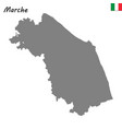 map of region of italy vector image vector image