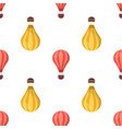 pattern balloons vector image vector image