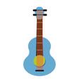 pop art guitar cartoon vector image vector image