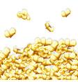 popcorn pattern vector image vector image