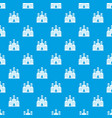 refinery pattern seamless blue vector image vector image