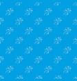 salamander pattern seamless blue vector image vector image