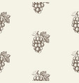 sketch berry abstract seamless pattern vector image vector image