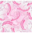 Valentine pink seamless pattern vector image vector image