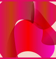 abstract red background with gradient vector image vector image