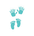baby palm icon design template isolated vector image