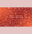 merry christmas banner 02 vector image