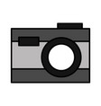 photography camera on white background vector image