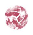 Volleyball pink pattern symbol
