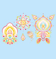 watercolor traditional ethnic ornament vector image vector image