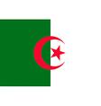 algerian flag vector image
