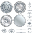 Fancy design elements vector image vector image