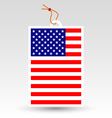 made in usa tag vector image