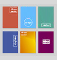 minimal covers design cool gradients future vector image vector image